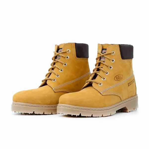 Ανδρικό Μποτάκι Box 190 Κίτρινο
