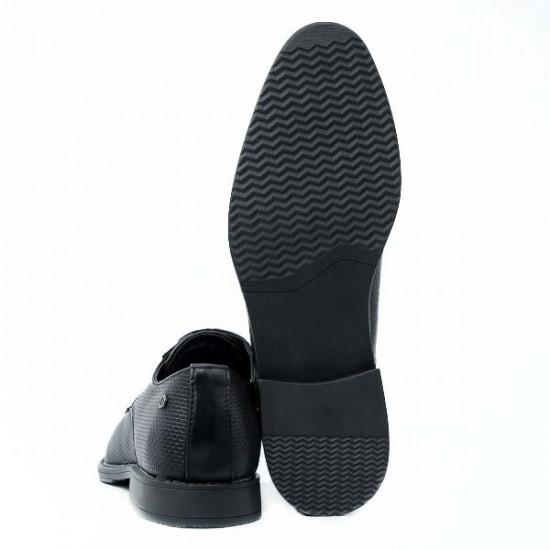 Ανδρικό Παπούτσι Tino Gonzalez 48/09 Μαύρο