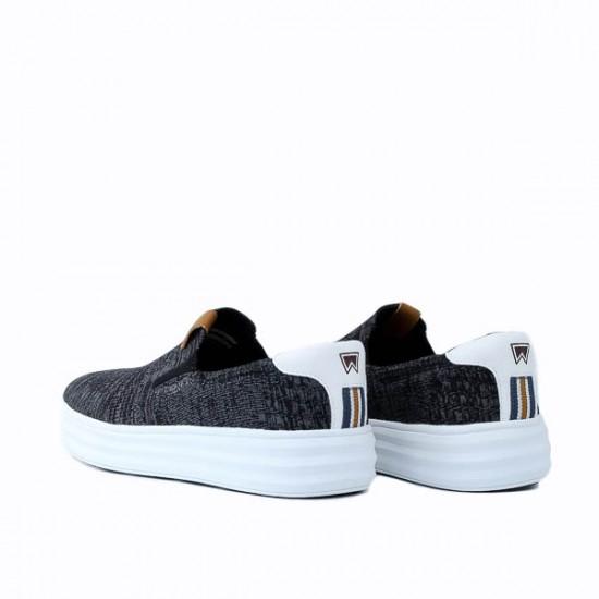 Ανδρικό Sneaker Wrangler Jelly Slip On WM11001A Μαύρο