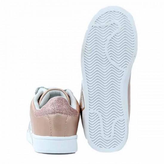 Παιδικό Sneaker Enrico Coveri E34S916 Ροζ Χρυσαφί