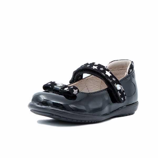 Παιδική Μπαλαρίνα Scarpy 502 Μαύρο