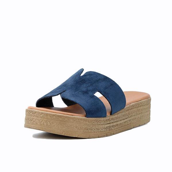 Γυναικεία Πλατφόρμα Sabino 2502 Μπλε