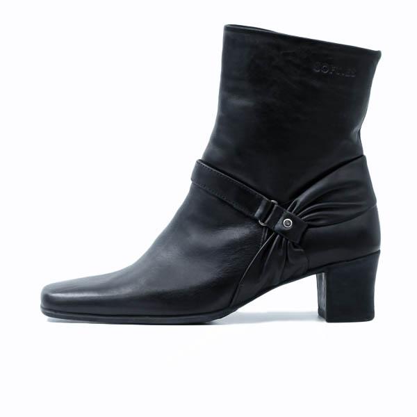 Γυναικείο Μποτάκι Softies 7412 Μαύρο