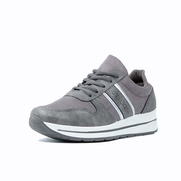 Γυναικείο Sneaker Fantastic Pair 8238 Γκρι
